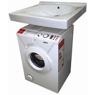 комплект раковины над стиральной машинкой Еврособа